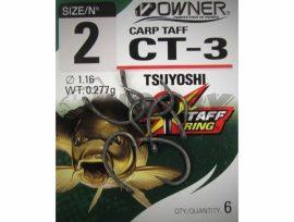 Owner CT-3 Carp TAFF pontyozó horog