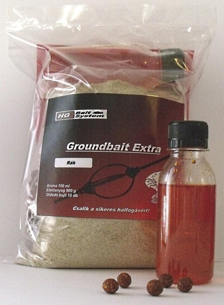 Groundbait Extra OrangeCrab Etetőanyag+Aroma+Bojli